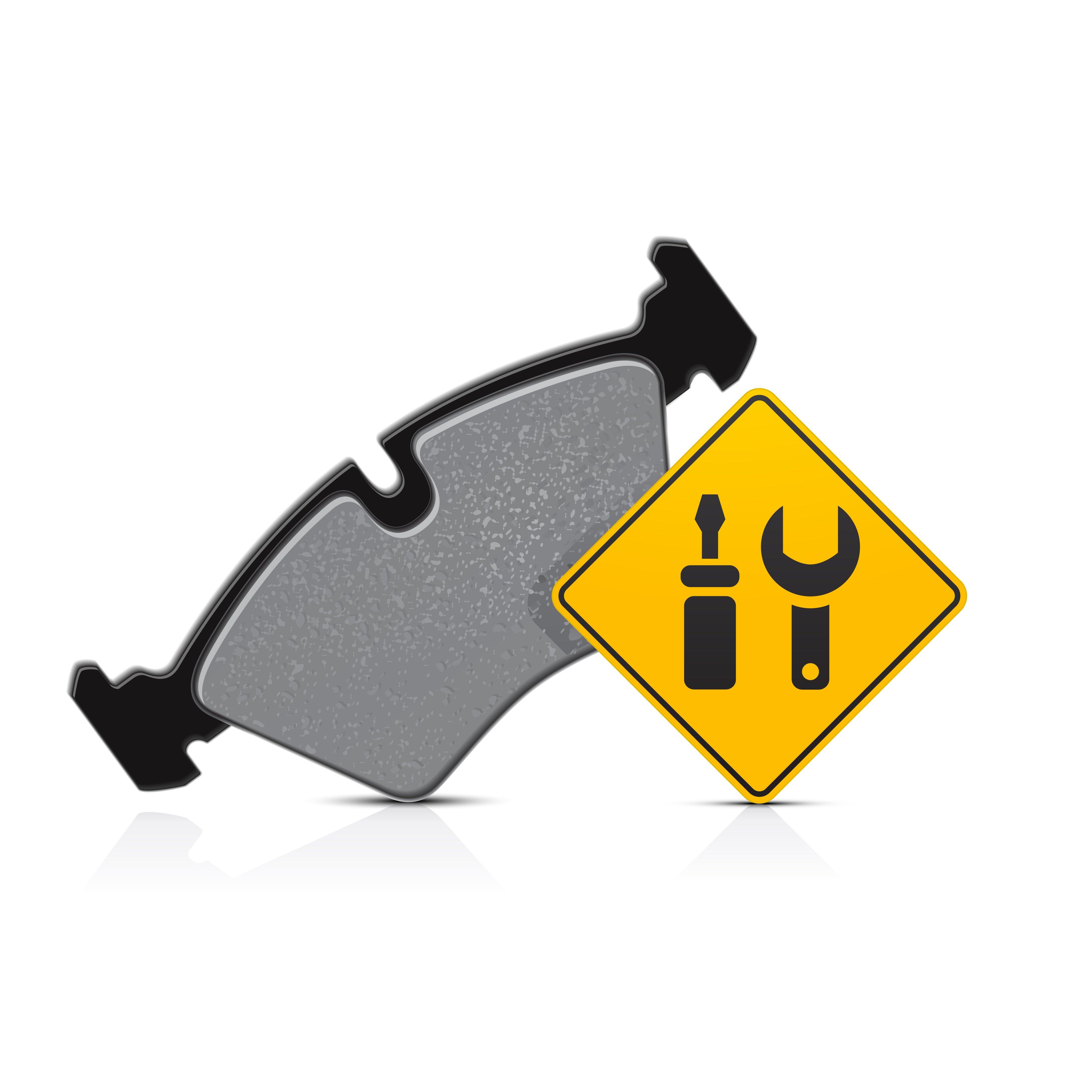 Brake pads clipart banner Fleet Maintenance: How to Spot Common Brake Problems banner