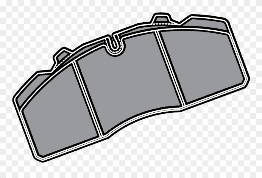 Brake pads clipart clip art black and white download Brake Pads - Brake Pad Clipart - Png Download (#2173046) - PinClipart clip art black and white download
