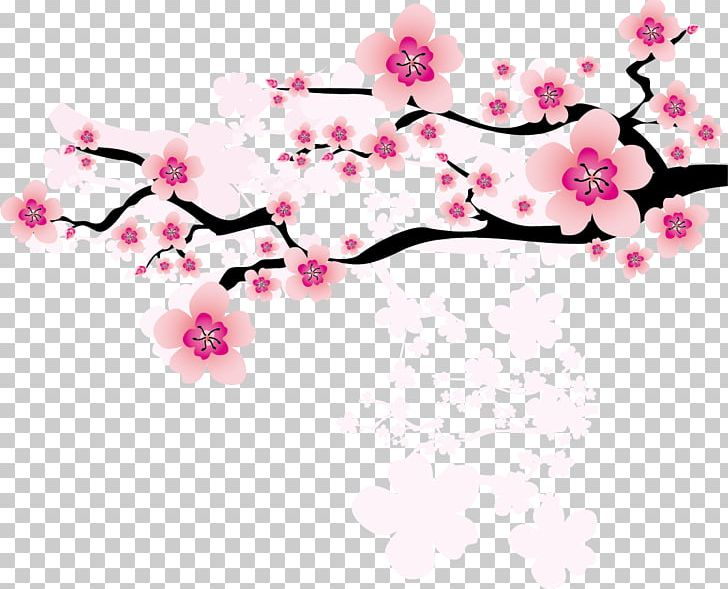 Branch with heart flowers png free clipart vector clip art free library National Flower Of The Republic Of China Plum Blossom PNG, Clipart ... clip art free library