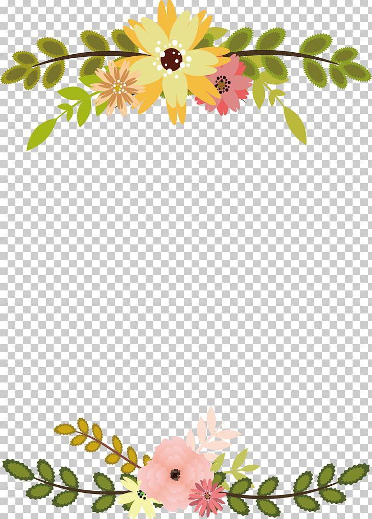 Branch with heart flowers png free clipart vector clipart transparent download Flower Leaf Floral Design PNG, Clipart, Border, Border Frame ... clipart transparent download