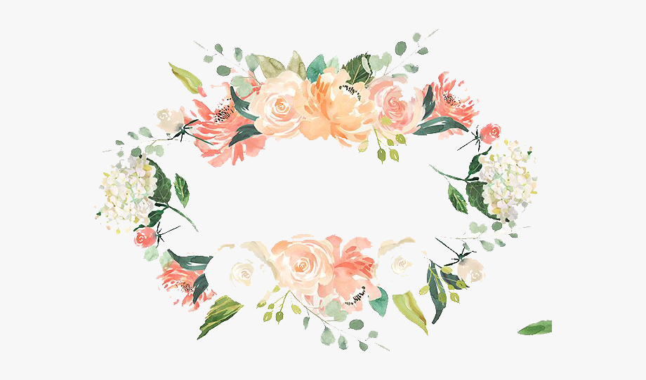 Branch with heart flowers png free clipart vector png free library Free With Flowers Foliage And Branch Peoplepng - Watercolor Flower ... png free library