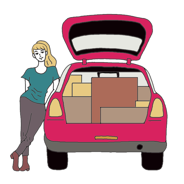 Car with luggage clipart clip royalty free download Car Boot Dream Dictionary: Interpret Now! - Auntyflo.com clip royalty free download