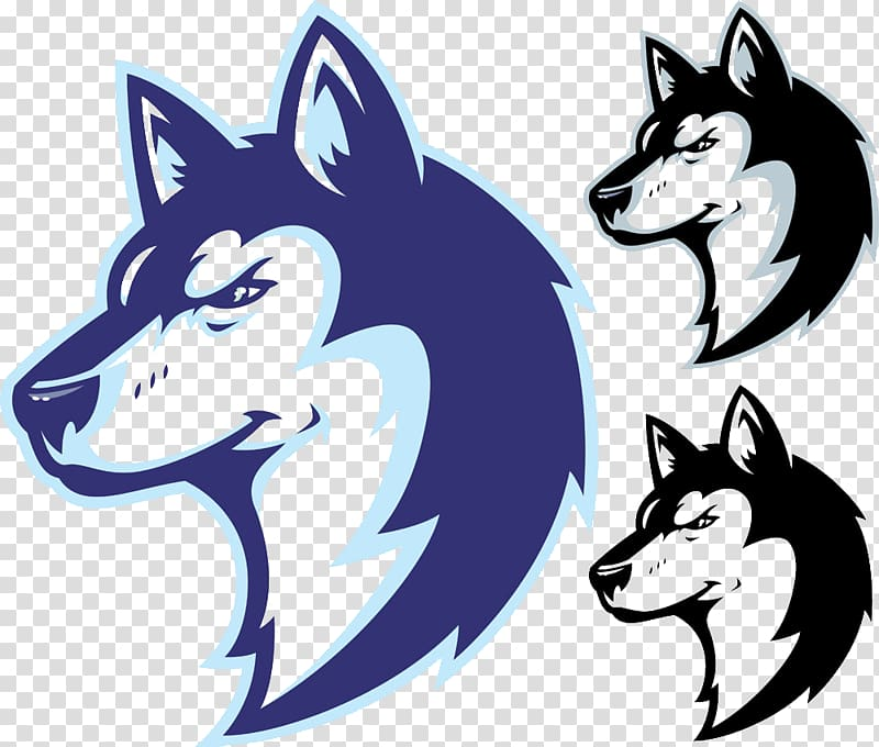 Wolf illustration, Oliver Wendell Holmes High School Louis D ... free