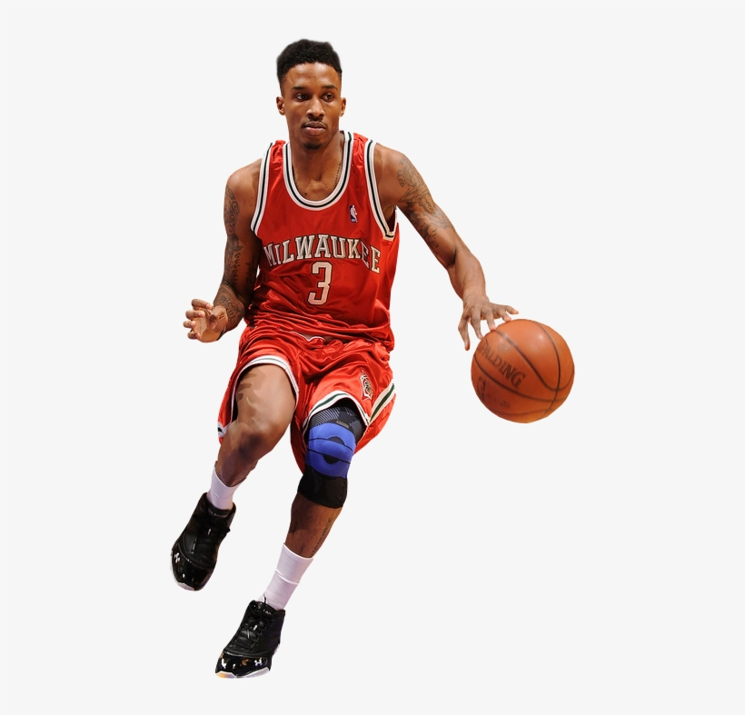 Brandon jennings clipart picture freeuse stock Brandon Jennings Photo Brandonjennings - Dribble Basketball PNG ... picture freeuse stock
