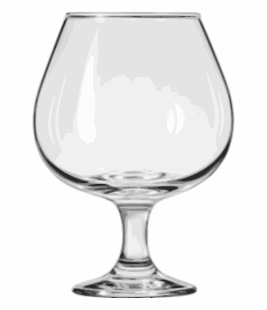 Brandy glass clipart image free stock Brandy Glass Png - Brandy Snifter Glass Free PNG Images & Clipart ... image free stock