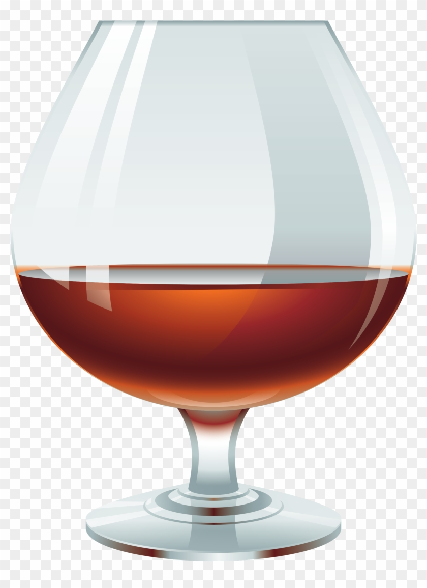Brandy glass clipart black and white Glass With Brandy Png Clipart - Brandy Clipart, Transparent Png ... black and white