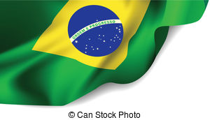 Brasil bandeira clipart png black and white library Bandeira Clip Art and Stock Illustrations. 151 Bandeira EPS ... png black and white library