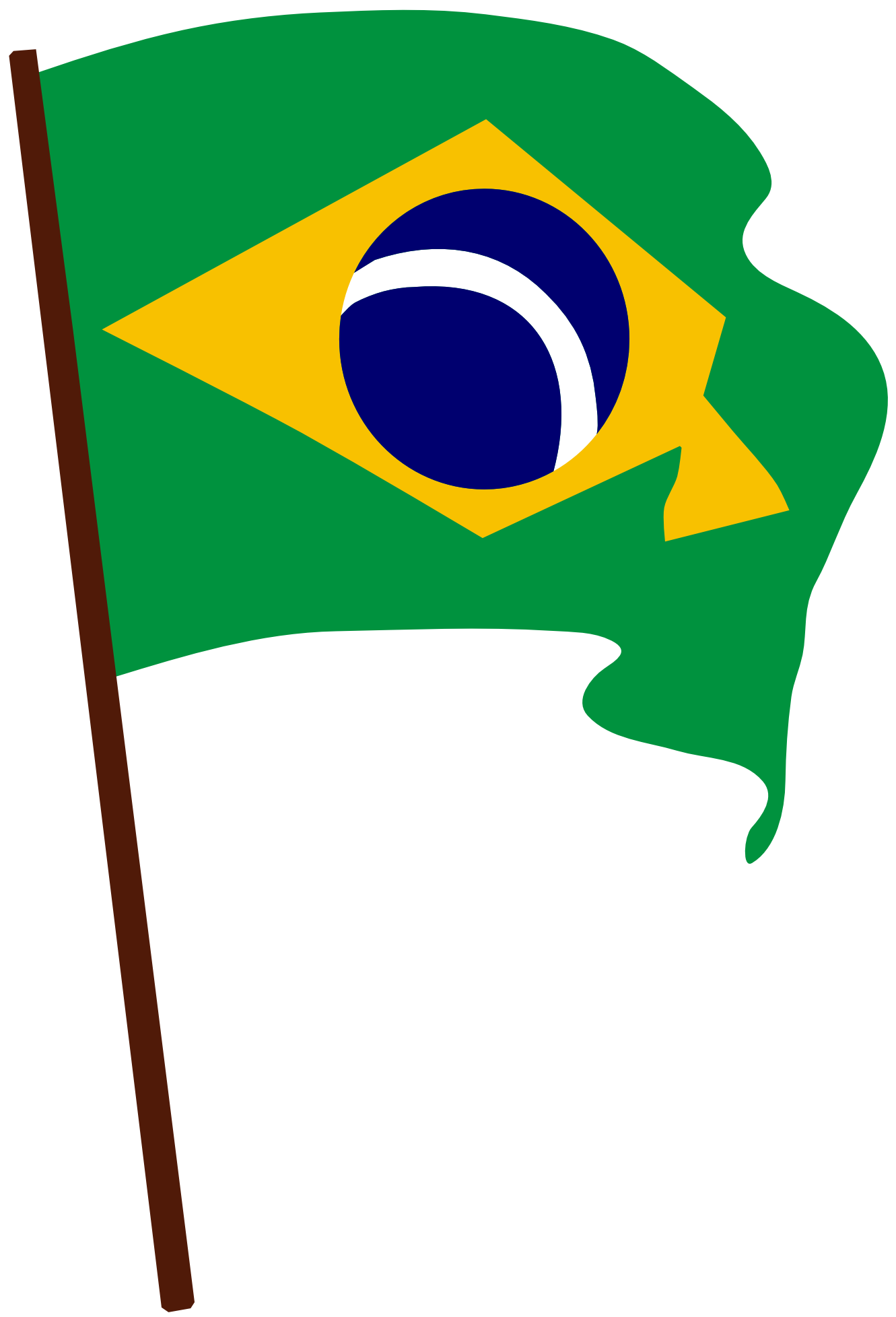Brasil bandeira clipart image library Imagens bandeira do brasil clipart images gallery for free download ... image library