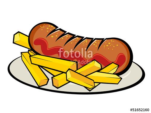 Bratwurstsemmel clipart svg transparent download currywurst\