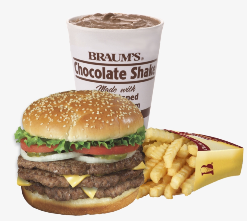 Braums clipart picture transparent download Clipart Free Library Triple Lb Cheeseburger Combo Braum - Braums ... picture transparent download