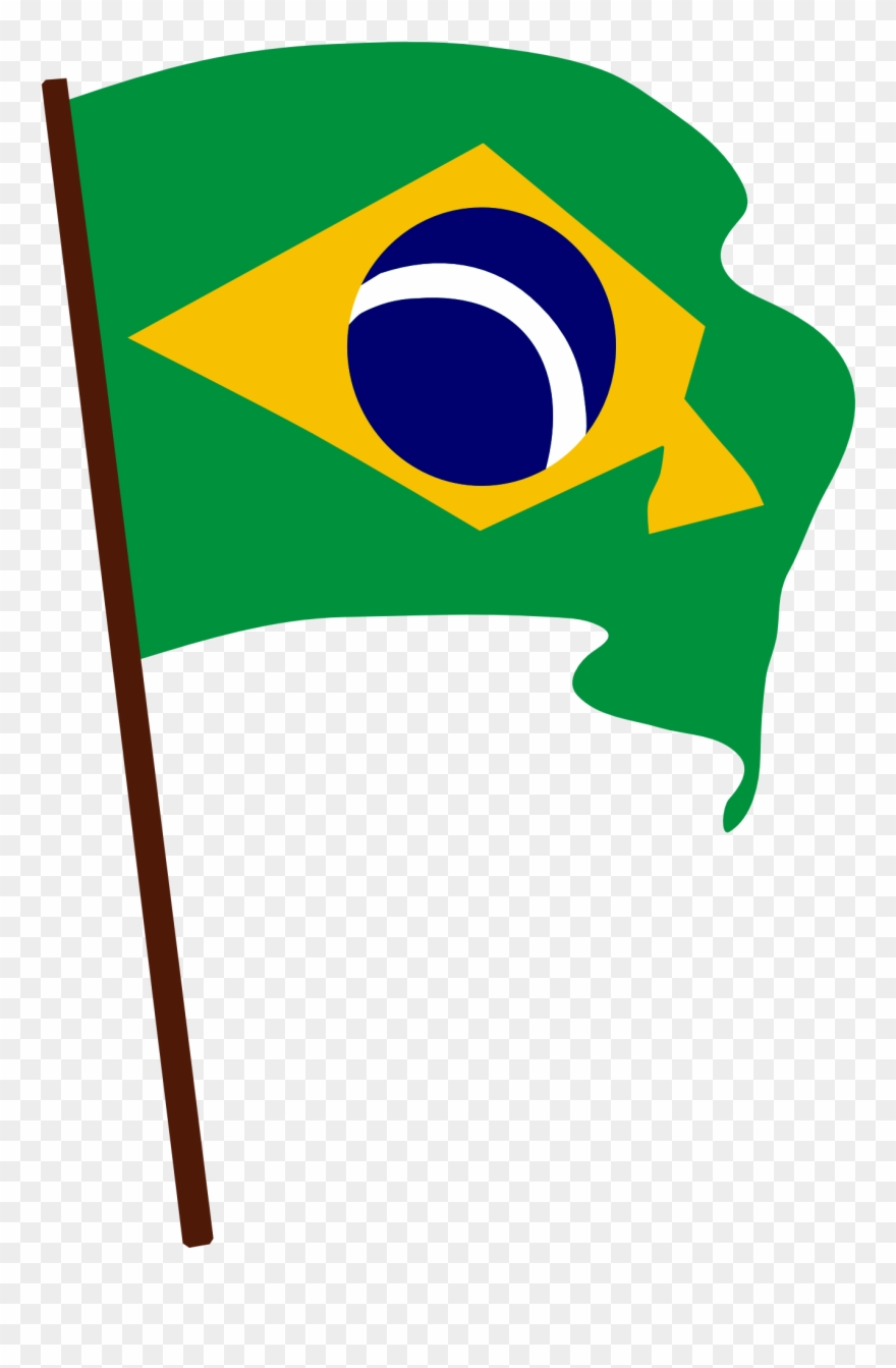 Brazil clipart with brazil written on it graphic library library Brazil Flag Vector - Brazil Png Clipart (#84952) - PinClipart graphic library library