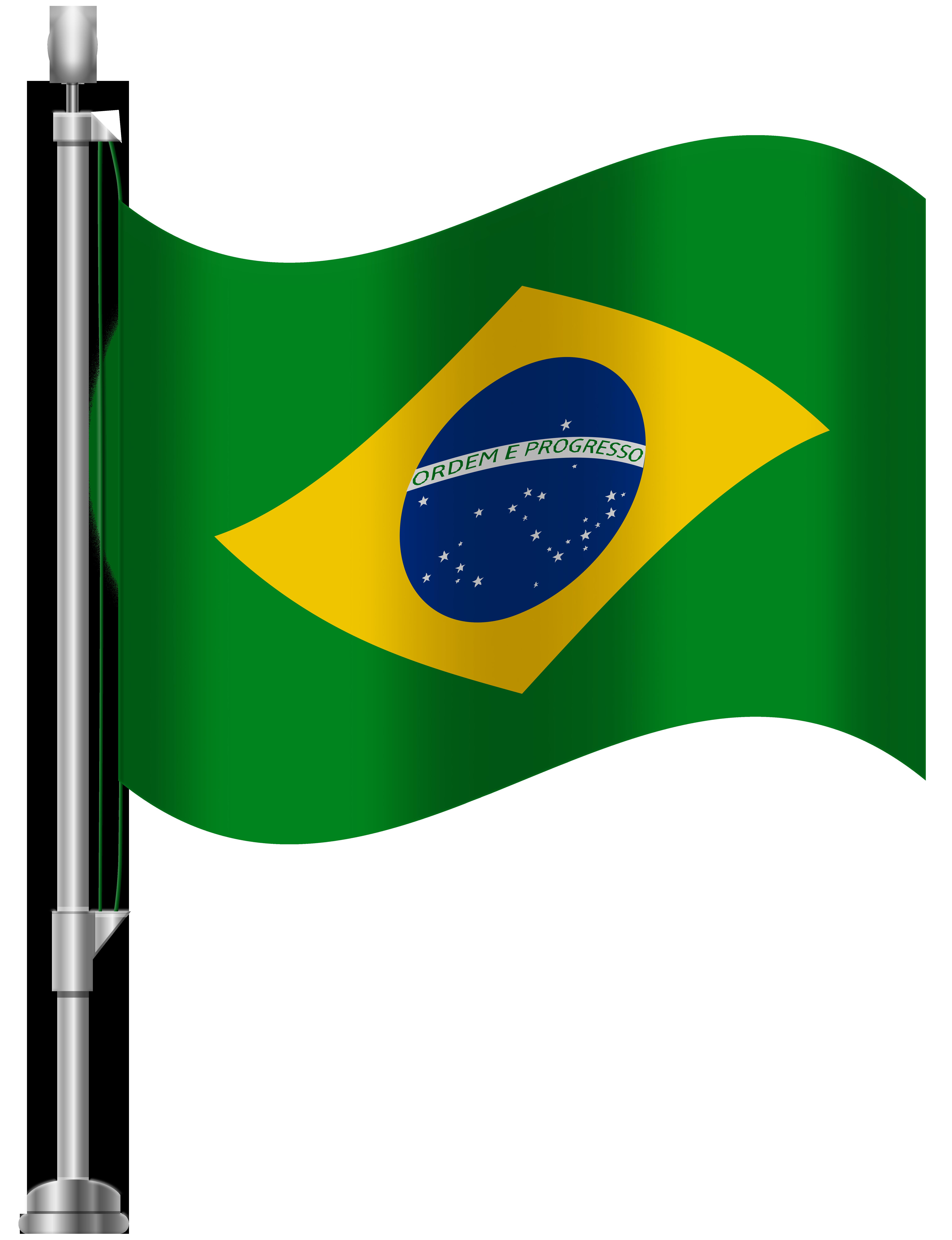 Brazil clipart with brazil written on it clip art royalty free stock Brazil Flag PNG Clip Art - Best WEB Clipart clip art royalty free stock