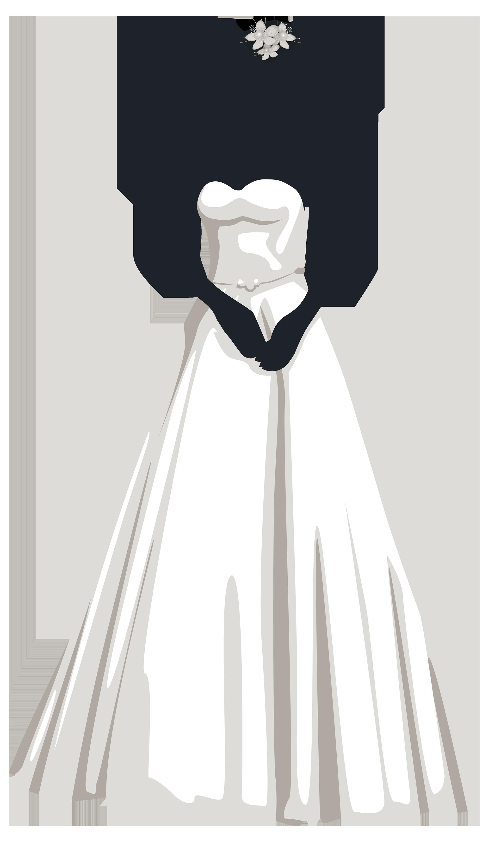 Bride clipart clip freeuse download Bride Silhouette PNG Clip Art - Best WEB Clipart clip freeuse download