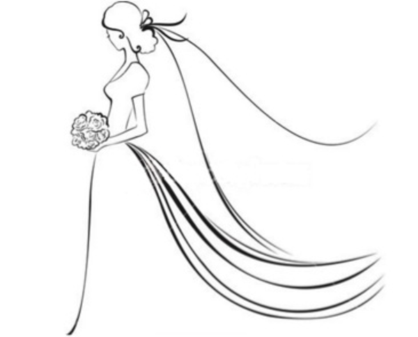 Bride clipart free library free bridal clipart images - Google Search   Sketching   Bride ... free library