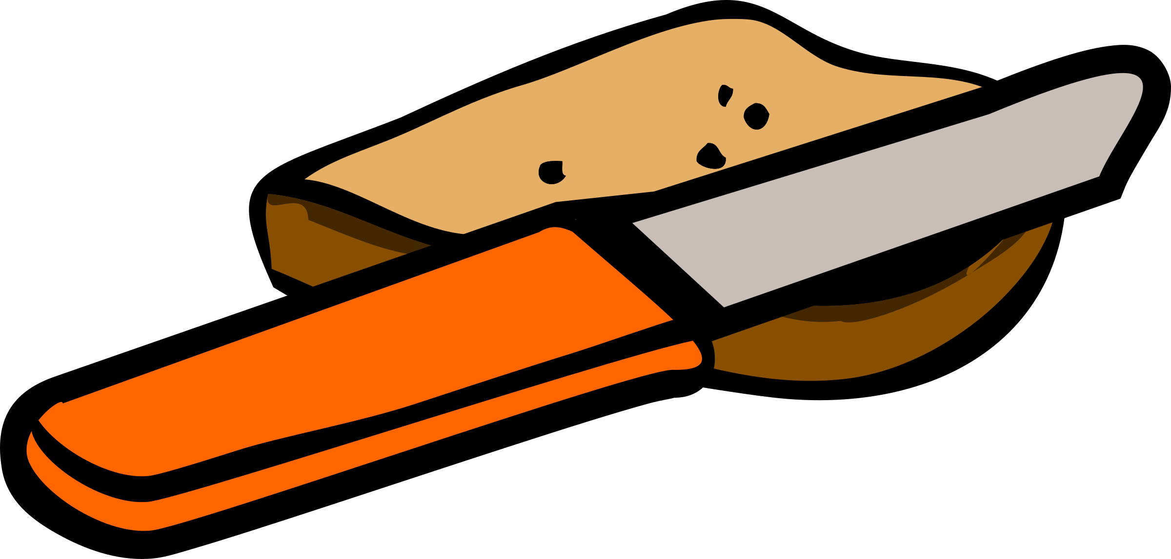 Bread and fish clipart svg stock knife and piece of bread Icons PNG - Free PNG and Icons Downloads svg stock