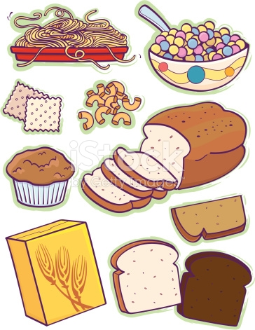 Bread cereal rice and pasta group clipart vector black and white download Grains clipart - 46 transparent clip arts, images and pictures for ... vector black and white download
