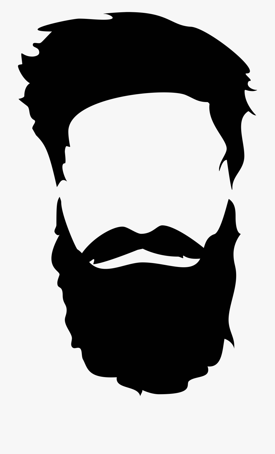 Bread clipart with face jpg royalty free Clipart Face Bread - Beard And Mustache Png, Cliparts & Cartoons ... jpg royalty free