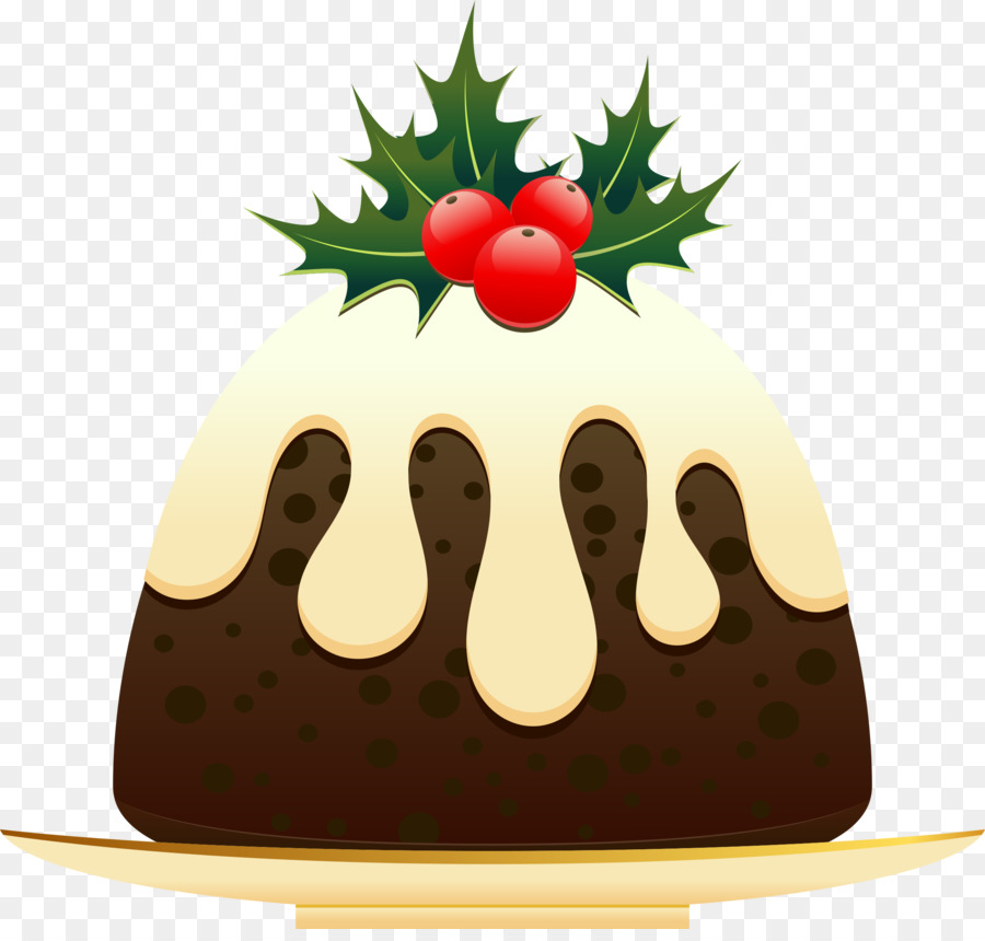 Plum pudding clipart clip black and white library Christmas Cake png download - 2400*2264 - Free Transparent Christmas ... clip black and white library