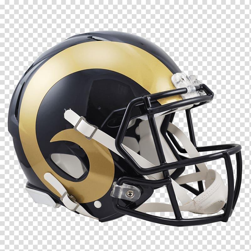 La rams helmet clipart graphic freeuse Gold and black football helmet, St Louis Rams Helmet transparent ... graphic freeuse