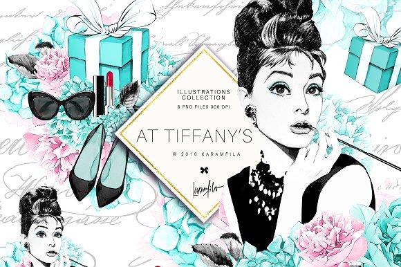 Breakfast at tiffanys clipart svg free stock Breakfast at Tiffany\'s Clipart svg free stock