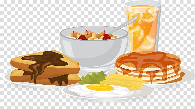 Breakfast clipart png graphic freeuse Breakfast Brunch Food Bread Egg, Food breakfast bread flattened rice ... graphic freeuse