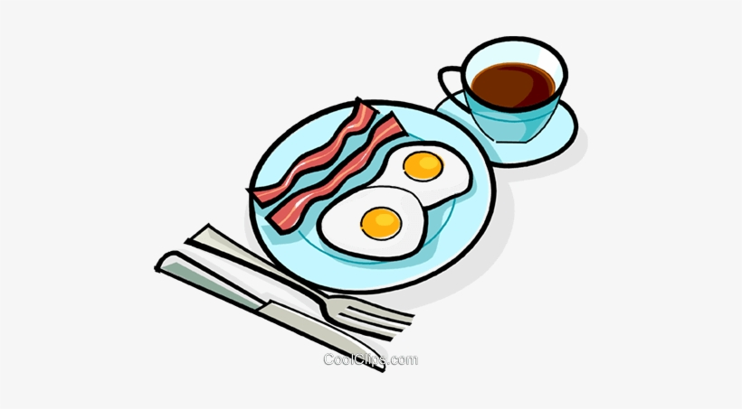 Breakfast clipart png image Bacon And Eggs Breakfast Royalty Free Vector Clip Art - Ovos Com ... image
