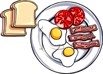 Breakfast clipart clip art black and white Healthy Breakfast Clipart Breakfast clipart | Teaching | Food ... clip art black and white