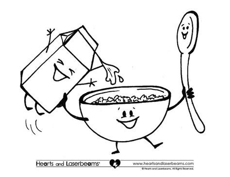 Breakfast helper clipart black and white royalty free stock Pinterest royalty free stock