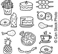 Breakfast lunch dinner clipart black and white clip art transparent Breakfast lunch Illustrations and Stock Art. 52,888 Breakfast lunch ... clip art transparent