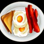 Breakfast plate clipart jpg black and white download Plate Breakfast Clipart   Clip art   Breakfast, Clip art, Dinner plates jpg black and white download