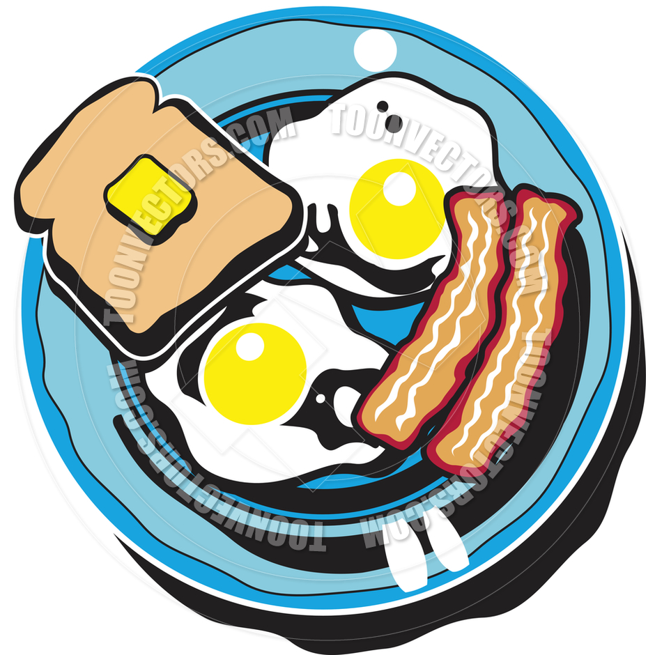 Breakfast plate clipart royalty free stock Cartoon Breakfast Plate Vector   Clipart Panda - Free Clipart Images royalty free stock