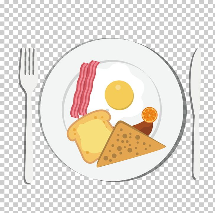 Breakfast plate clipart picture black and white Breakfast Toast Eating Food European Cuisine PNG, Clipart, Adobe ... picture black and white