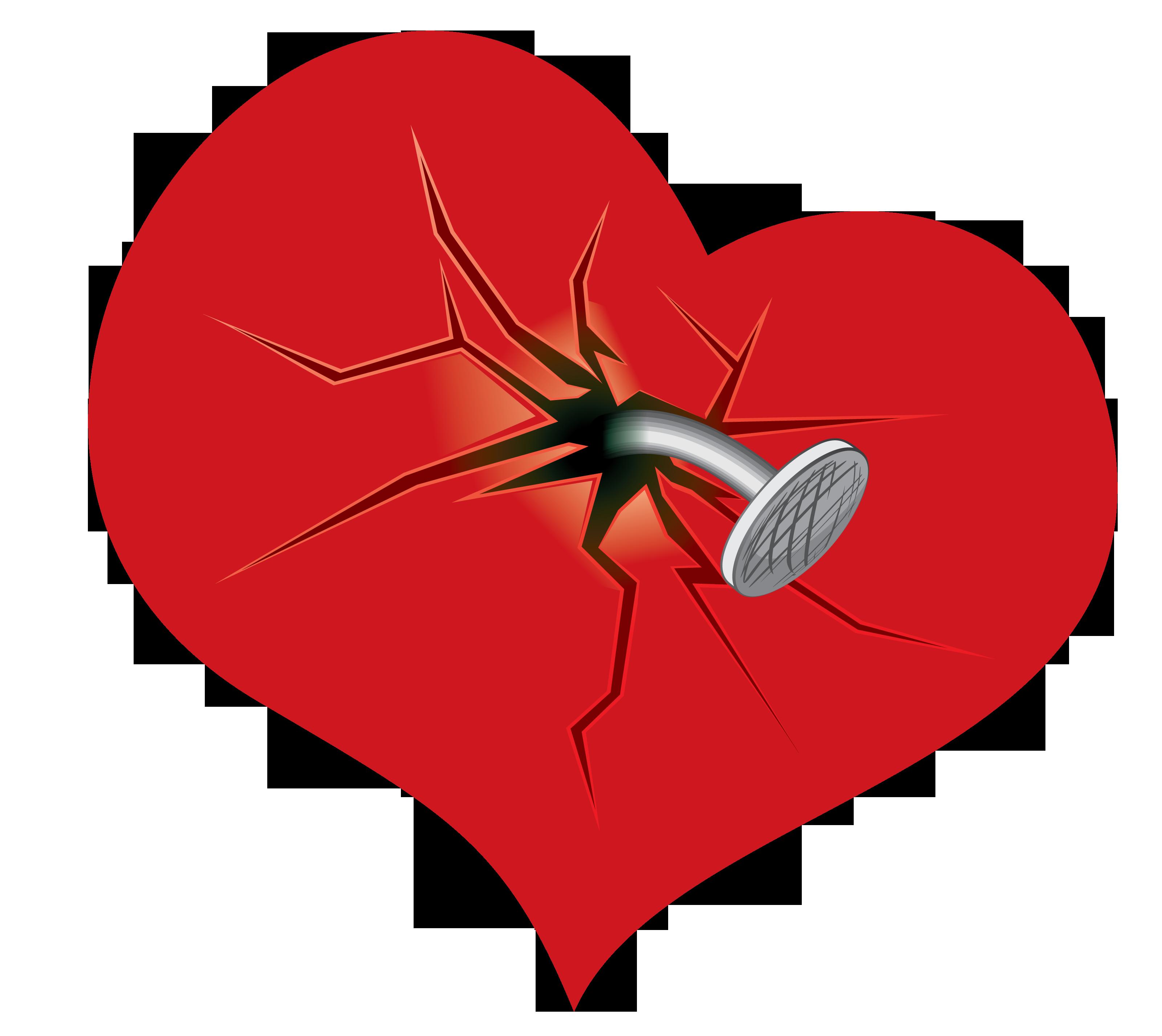 Heart broken clipart jpg transparent Broken Heart PNG Picture Clipart | Gallery Yopriceville - High ... jpg transparent
