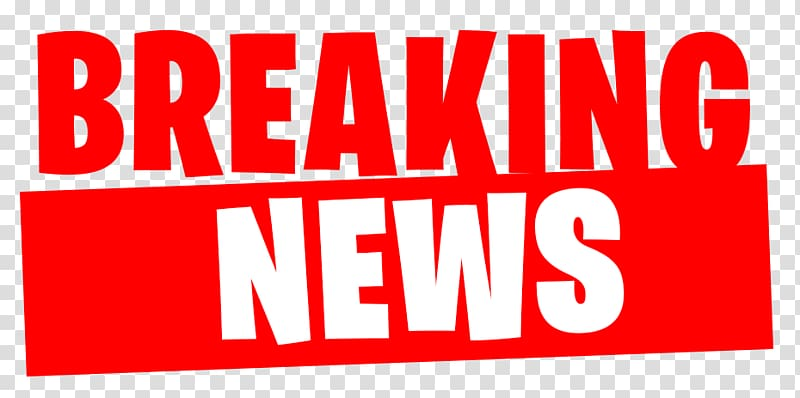 Breaking news banner clipart image library library Breaking News text overlay, Breaking news Newspaper Logo Exercise ... image library library