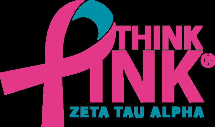 Pink ribbon football clipart clip art black and white stock National Philanthropy | Zeta Tau Alpha at Louisiana State University clip art black and white stock