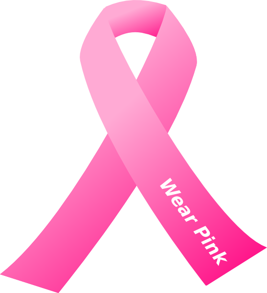 Cross with cancer ribbon clipart clip art library Pix For > Pink Cancer Ribbon Logo | Breast Cancer Awareness ... clip art library