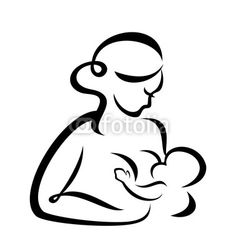 Breastfeeding images clipart vector black and white download 77 Best Breastfeeding Clip Art & Vectors images in 2015 ... vector black and white download