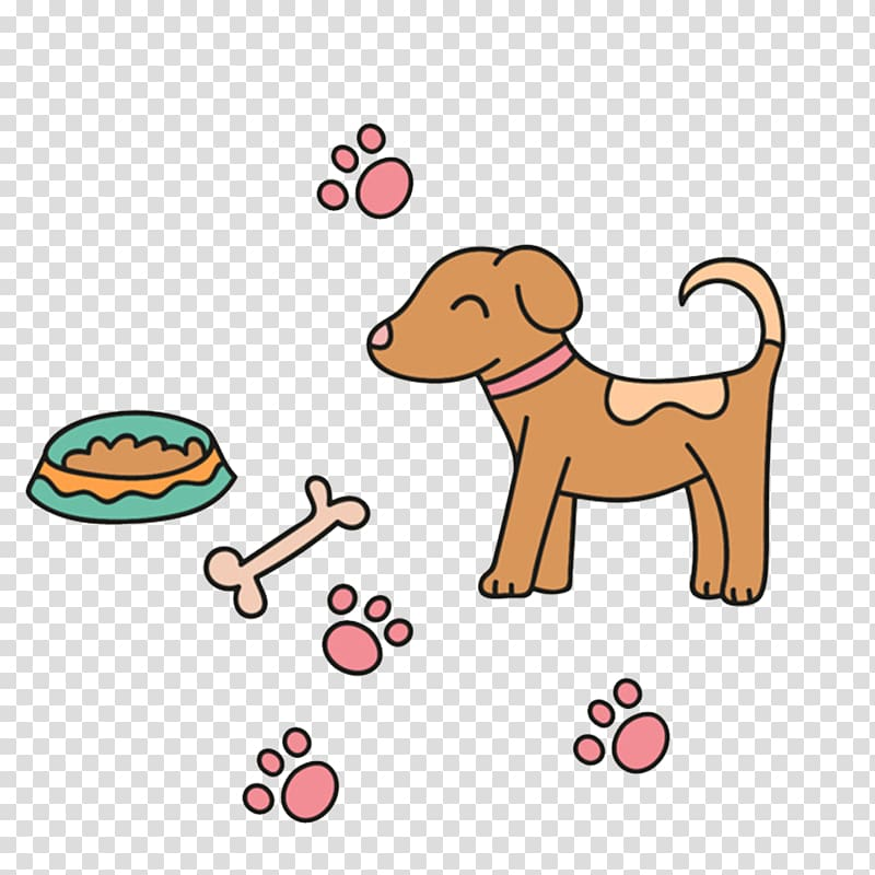 Breed clipart transparent library Puppy Dog breed , Puppy bones transparent background PNG clipart ... transparent library