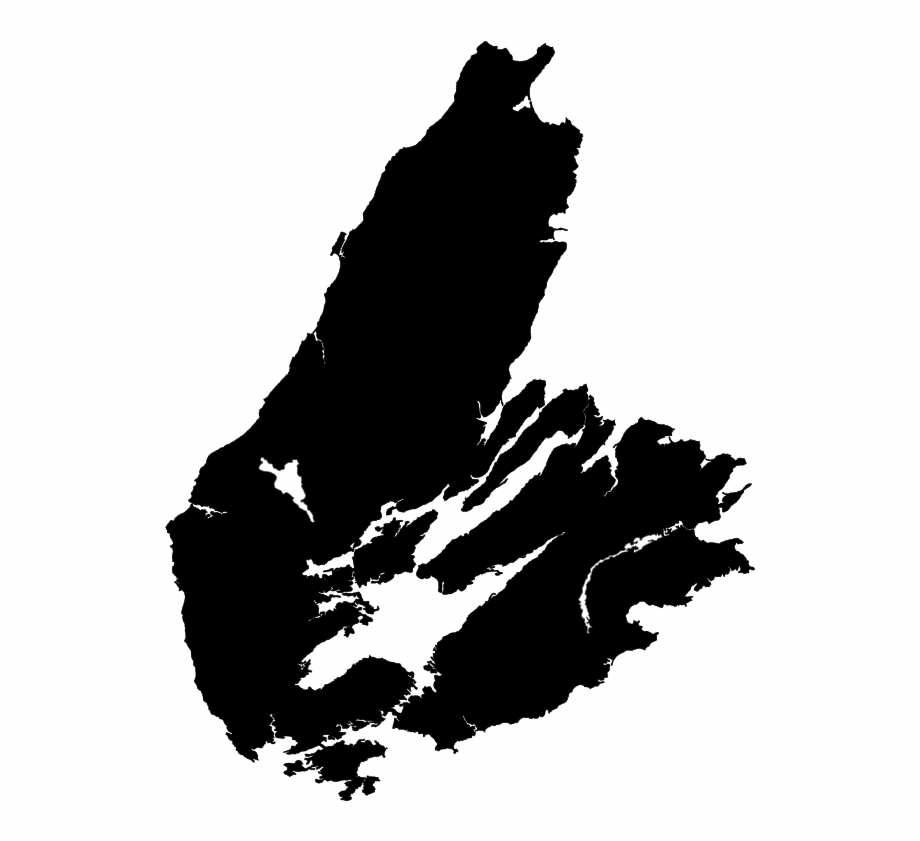 Breton clipart jpg black and white stock Cape Breton Island Map Free PNG Images & Clipart Download #5392466 ... jpg black and white stock