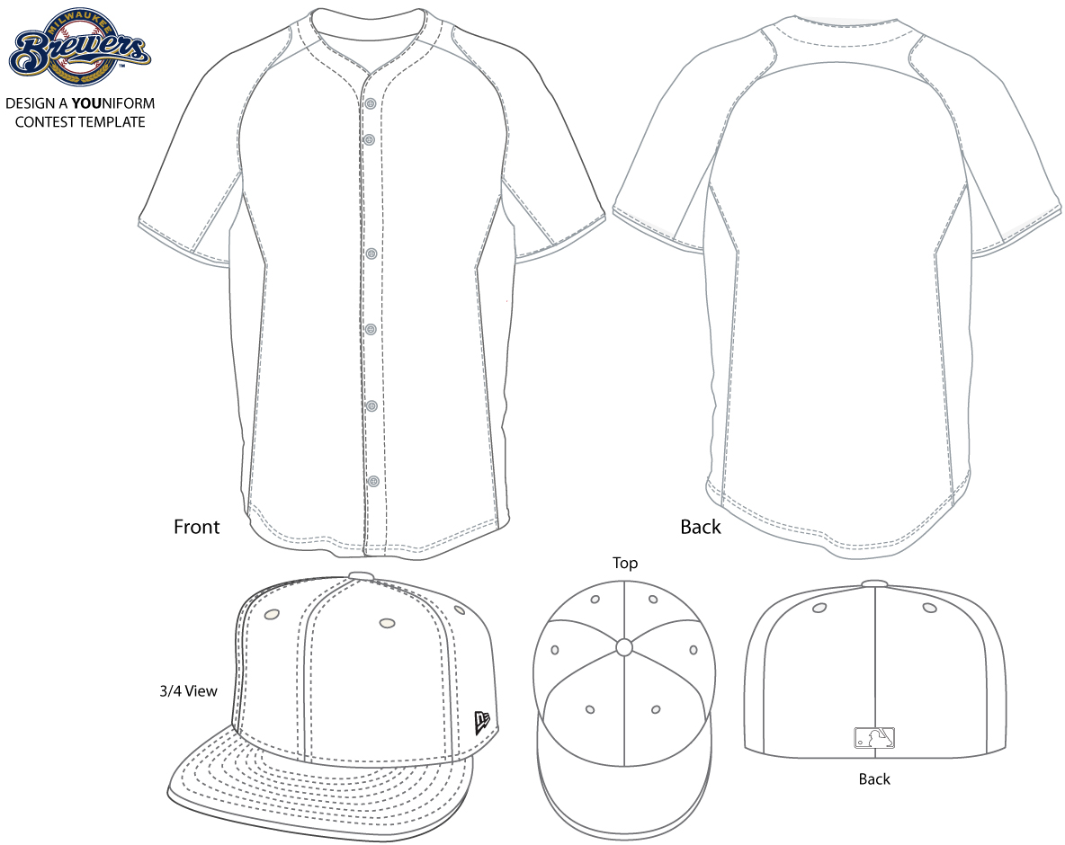 Brewers jersey clipart clip transparent library Brewers Look to Fans for their New YOUniform Design | Chris - Clip ... clip transparent library