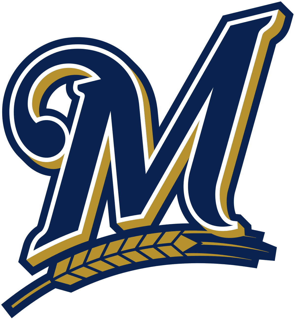 Brewers jersey clipart clipart royalty free library Milwaukee Brewers - Wikipedia clipart royalty free library