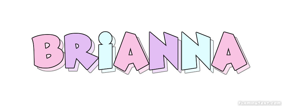 Brianna clipart image transparent library Brianna Logo | Free Name Design Tool from Flaming Text image transparent library