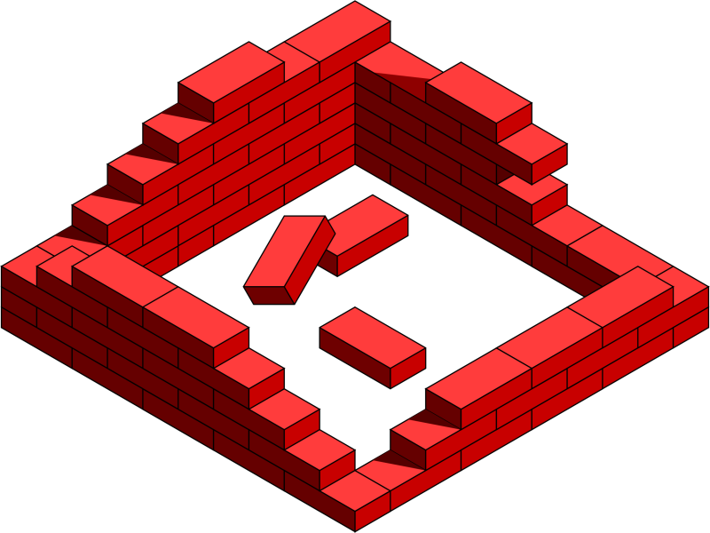 House wall clipart graphic free stock 19 Brick clipart HUGE FREEBIE! Download for PowerPoint presentations ... graphic free stock