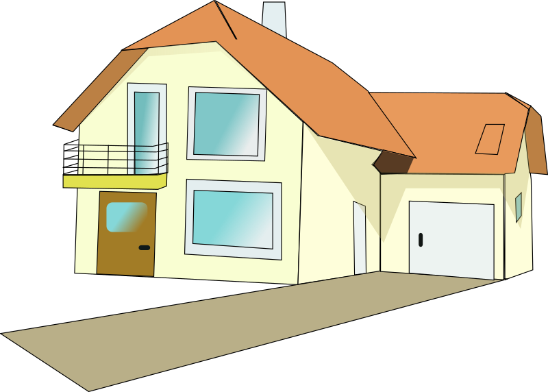 House pictures clipart with driveway image freeuse library Clipart - house 4 image freeuse library