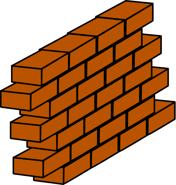 House wall clipart svg transparent library Brick House Clipart | Clipart Panda - Free Clipart Images svg transparent library
