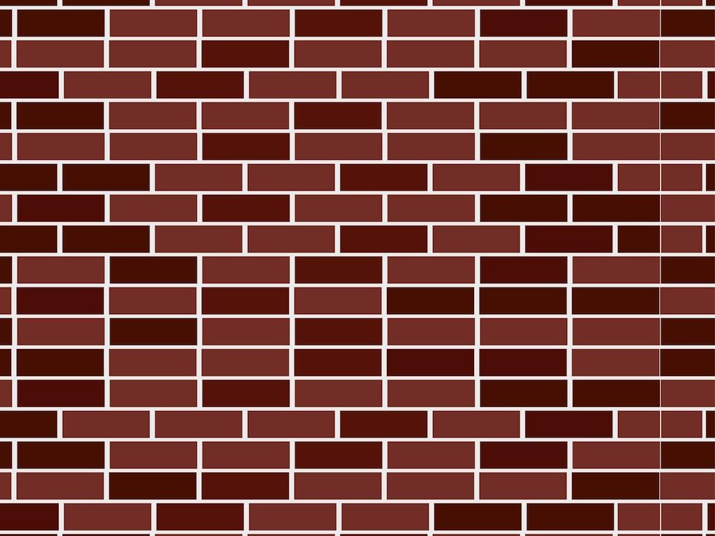 Bricks vector clipart clip art library library Brick Wall Pattern Vector Art & Graphics   freevector.com clip art library library