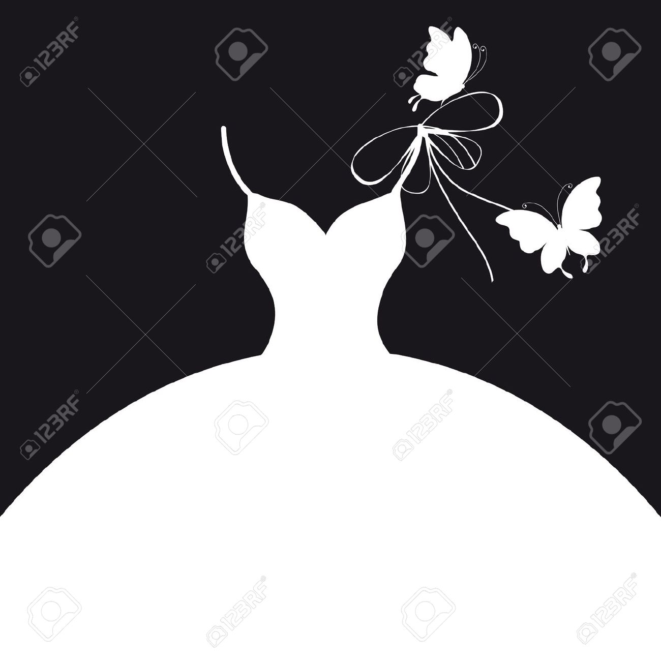 Bridal gown silhouette clipart svg free download Free Wedding Dress Clipart, Download Free Clip Art, Free Clip Art on ... svg free download