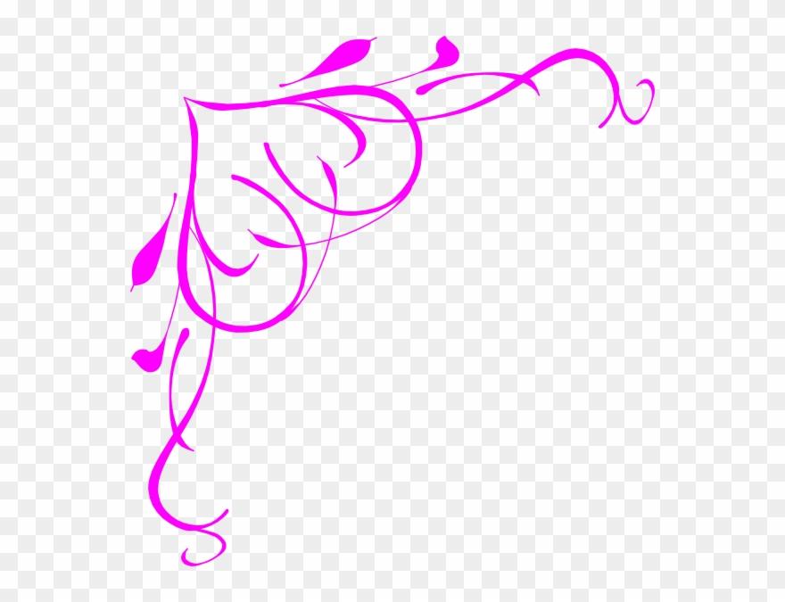 Bridal shower border clipart svg freeuse download Pink Heart Border Clip Art - Bridal Shower Border Clipart - Png ... svg freeuse download