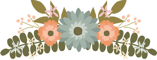 Bridal shower flowers clipart picture transparent Floral Clipart, Flower Clipart, Wedding Clipart - Graphics / Clip ... picture transparent