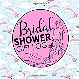 Bridal shower gifts clipart clip freeuse download Bridal Shower Gift Log: Gift Log Bridal Shower, Gift Record Book ... clip freeuse download
